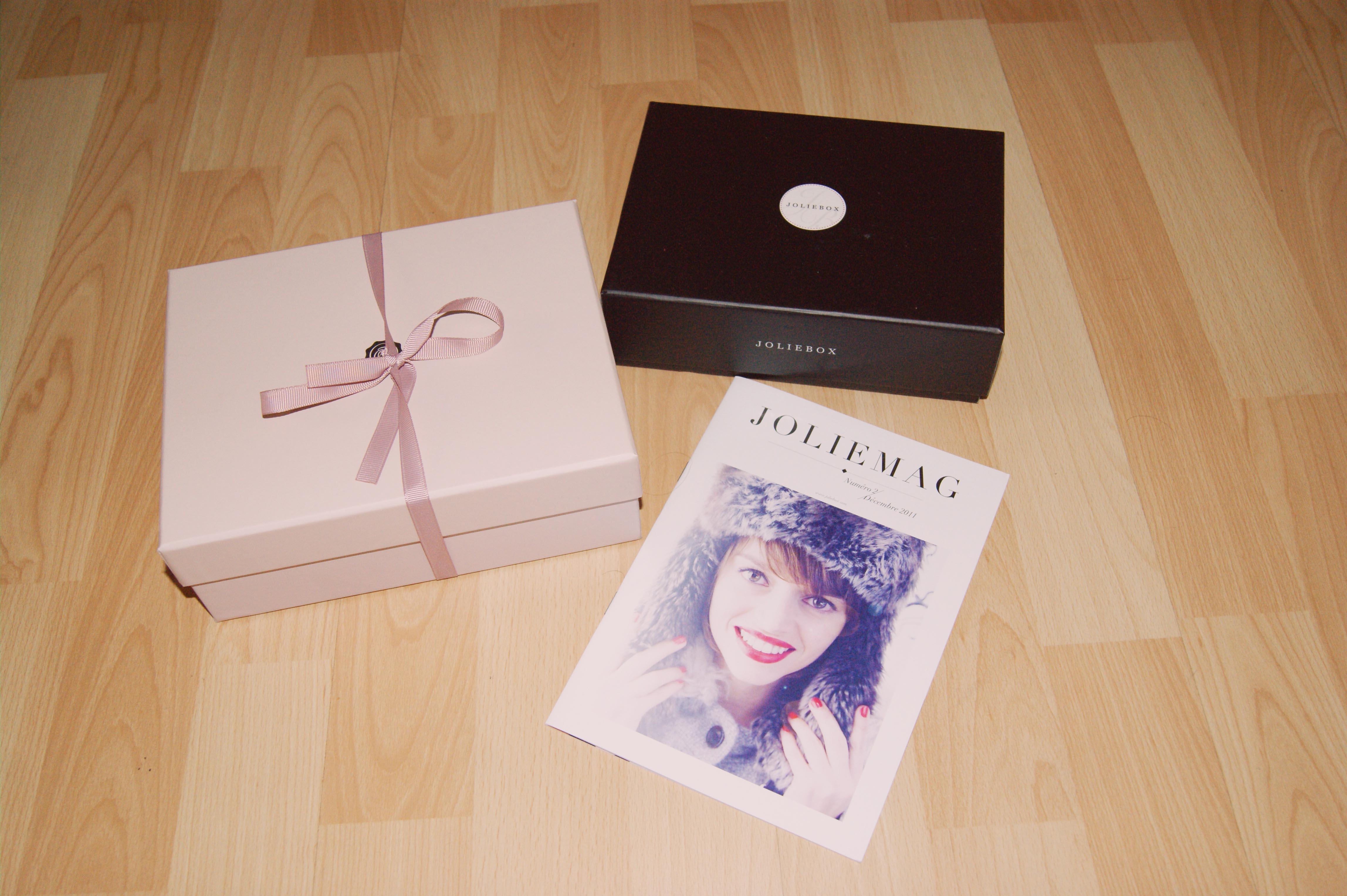 joliebox et glossybox décembre 2011