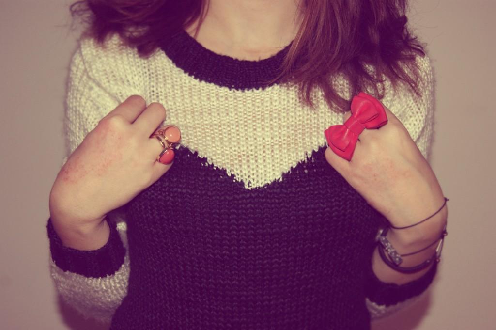 pull coeur h&m