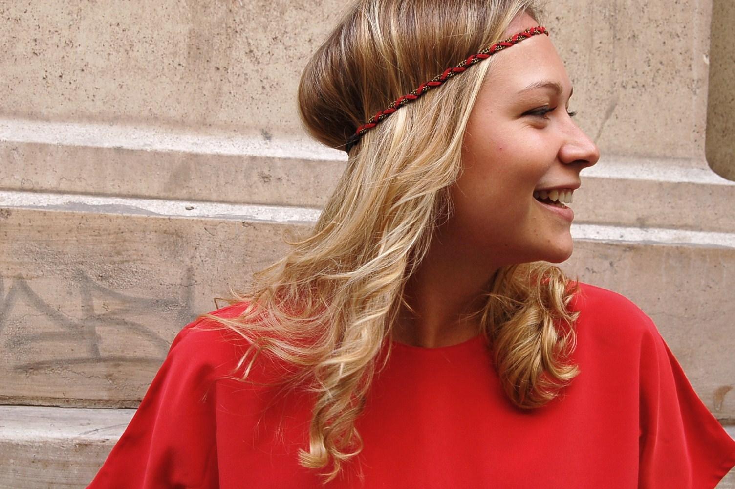 headband chouette fille