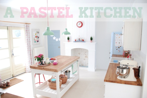 Inspirations girly pastel le so girly blog for Deco cuisine girly