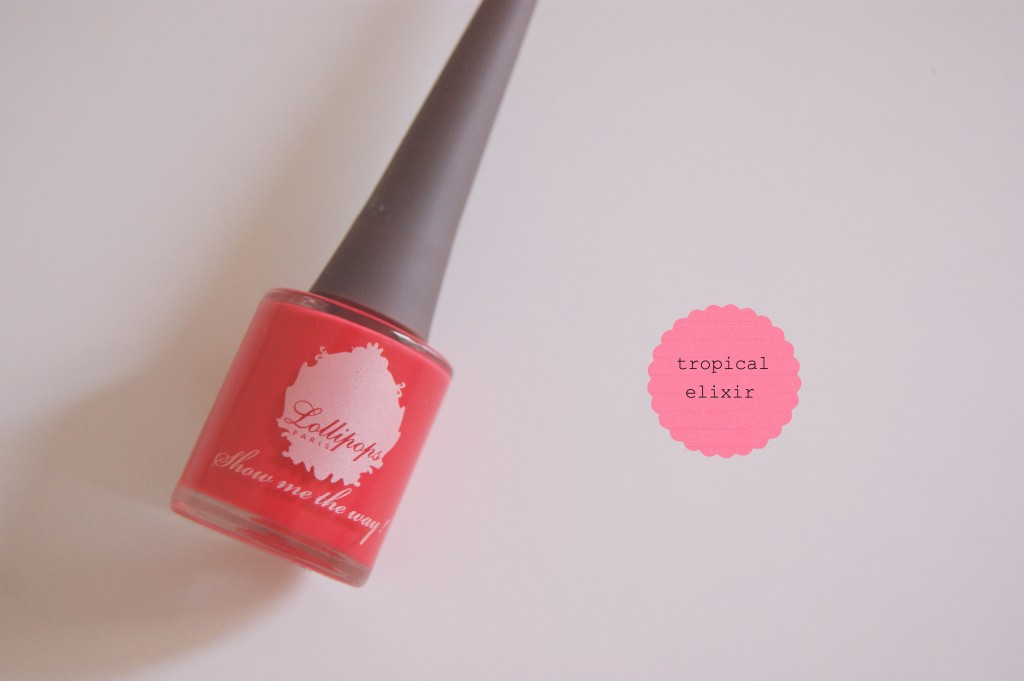 vernis tropical elixir lollipops