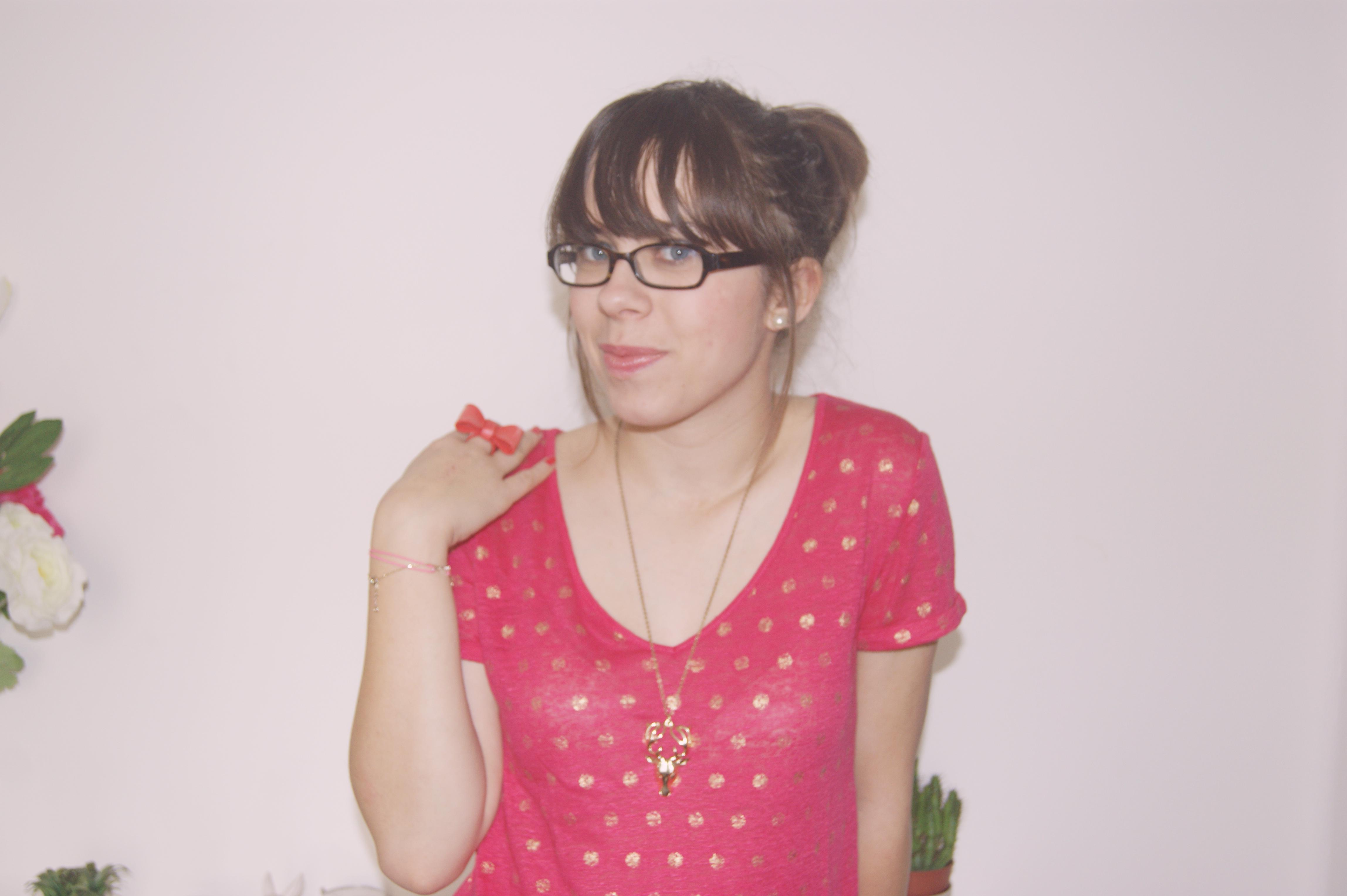 tenue rose girly