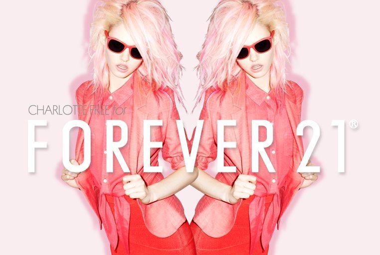 charlotte free forever21