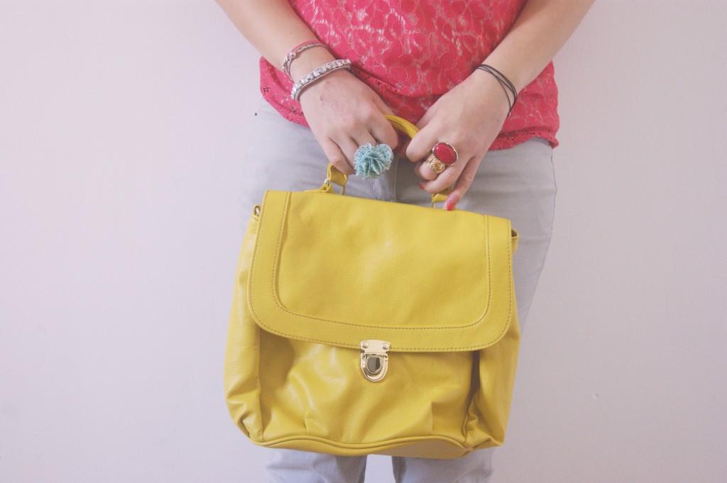 sac jaune h&m