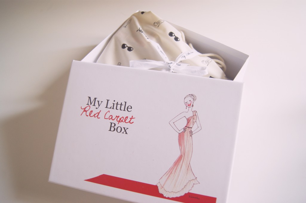 my little red carpet box