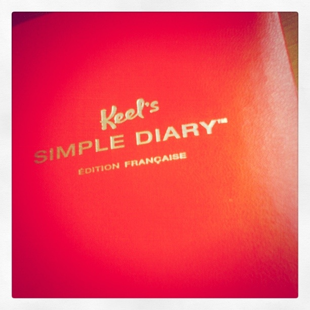 keel's simple diary français
