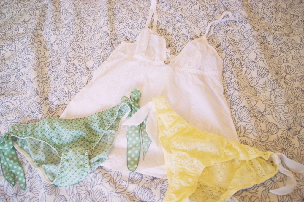 lingerie naf naf