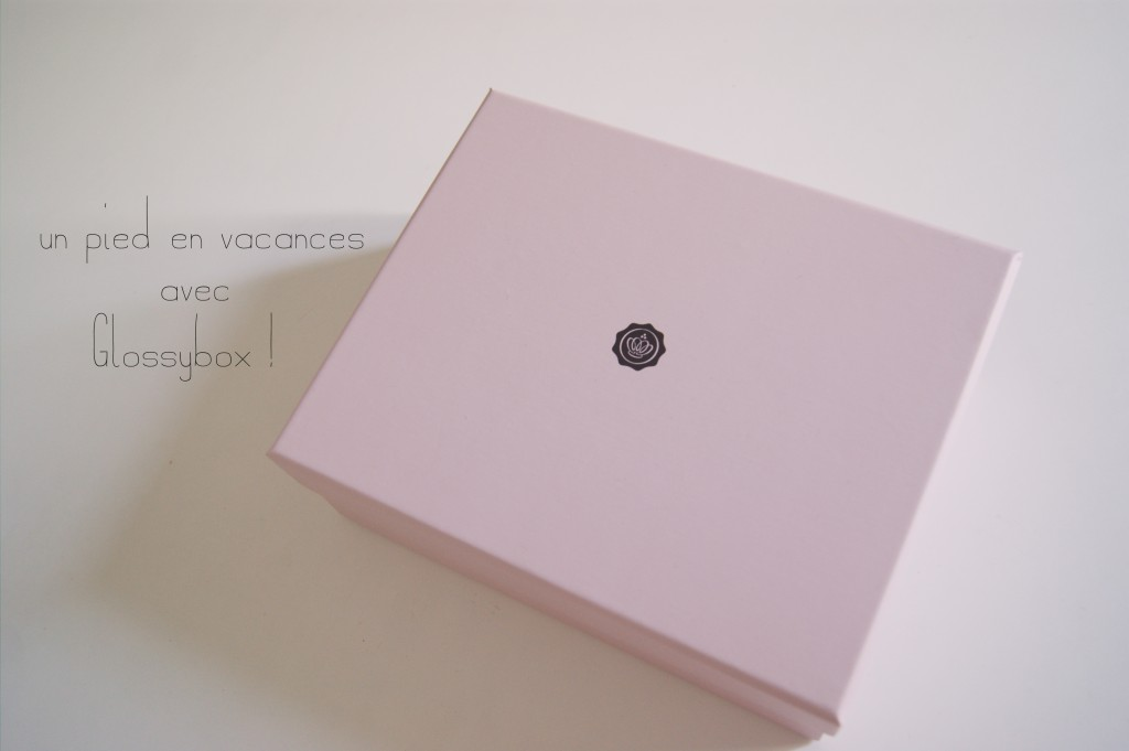 glossybox aout 2012