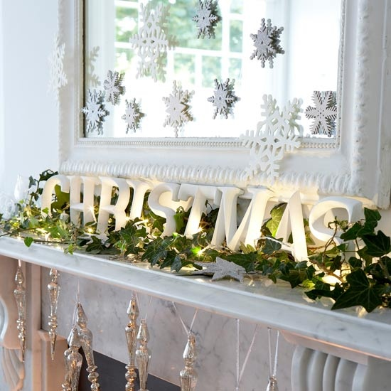 D corations de no l le so girly blog - Deco de noel interieur ...