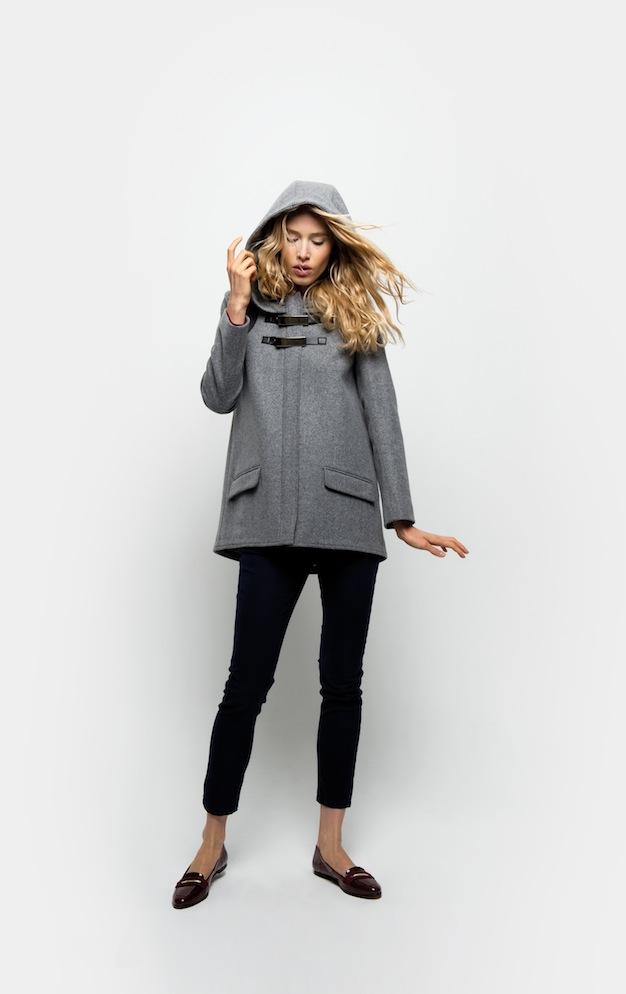 Manteau d'hiver femme naf naf