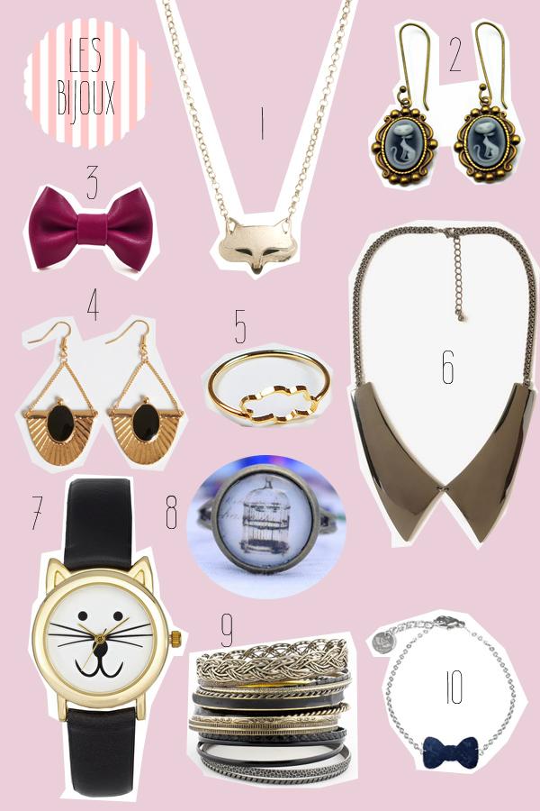 20 accessoires a petit prix a posseder absolument le With bijoux a petit prix
