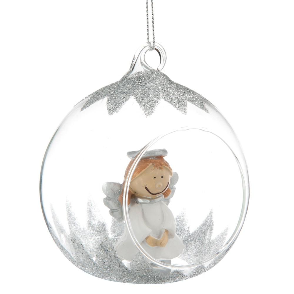E shopping de la semaine sp cial d corations de no l - Boule de noel plastique a decorer ...
