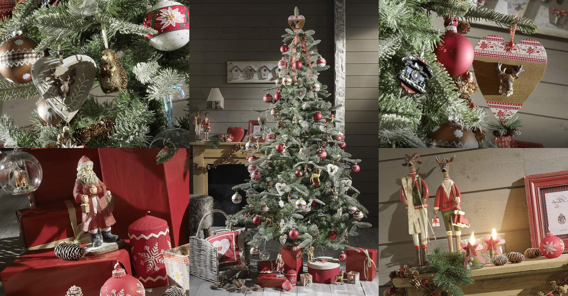 E shopping de la semaine sp cial d corations de no l for Maison decore pour noel