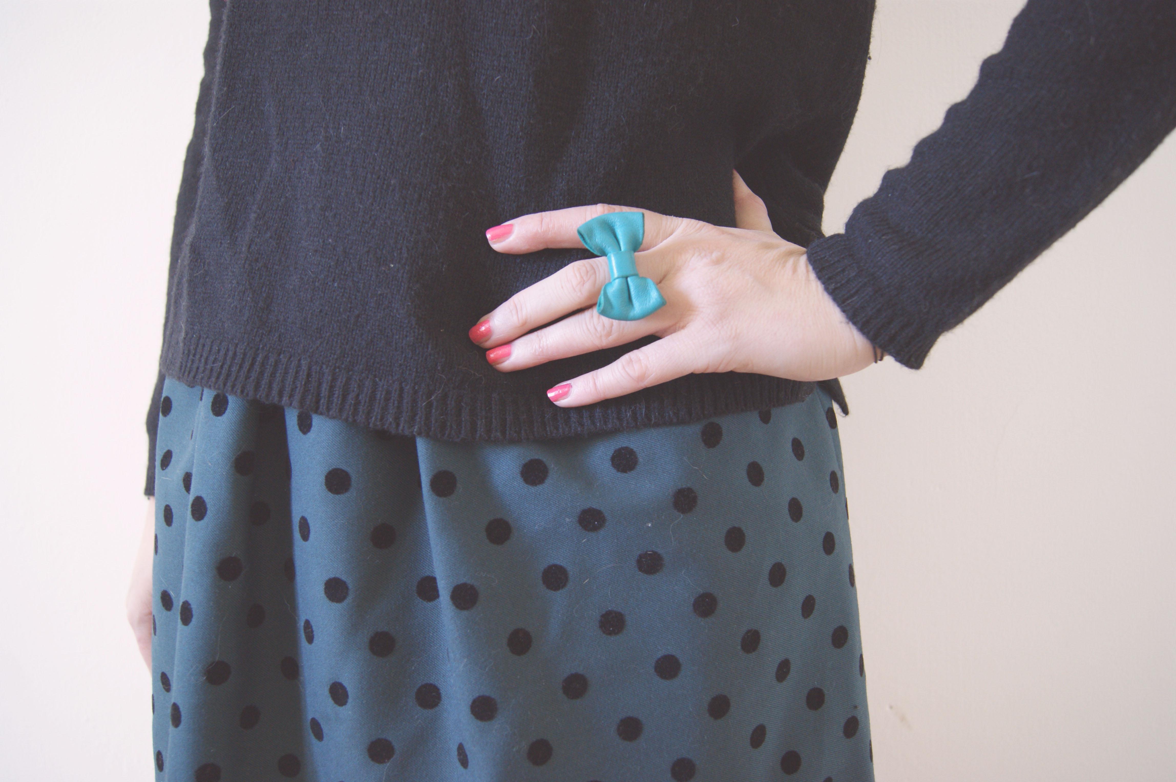 Naf naf robe blanche pois noir