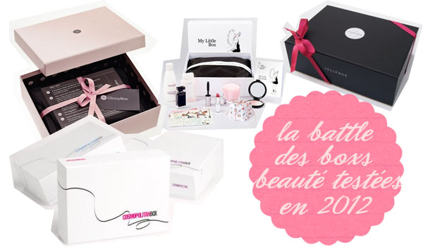 La battle beaut quelle box choisir le so girly blog - Meilleures box beaute ...