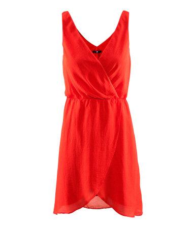 Robe rouge pour reveillon