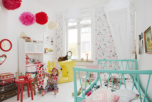Fluffy magazine le so girly blog - Chambre coloree ...