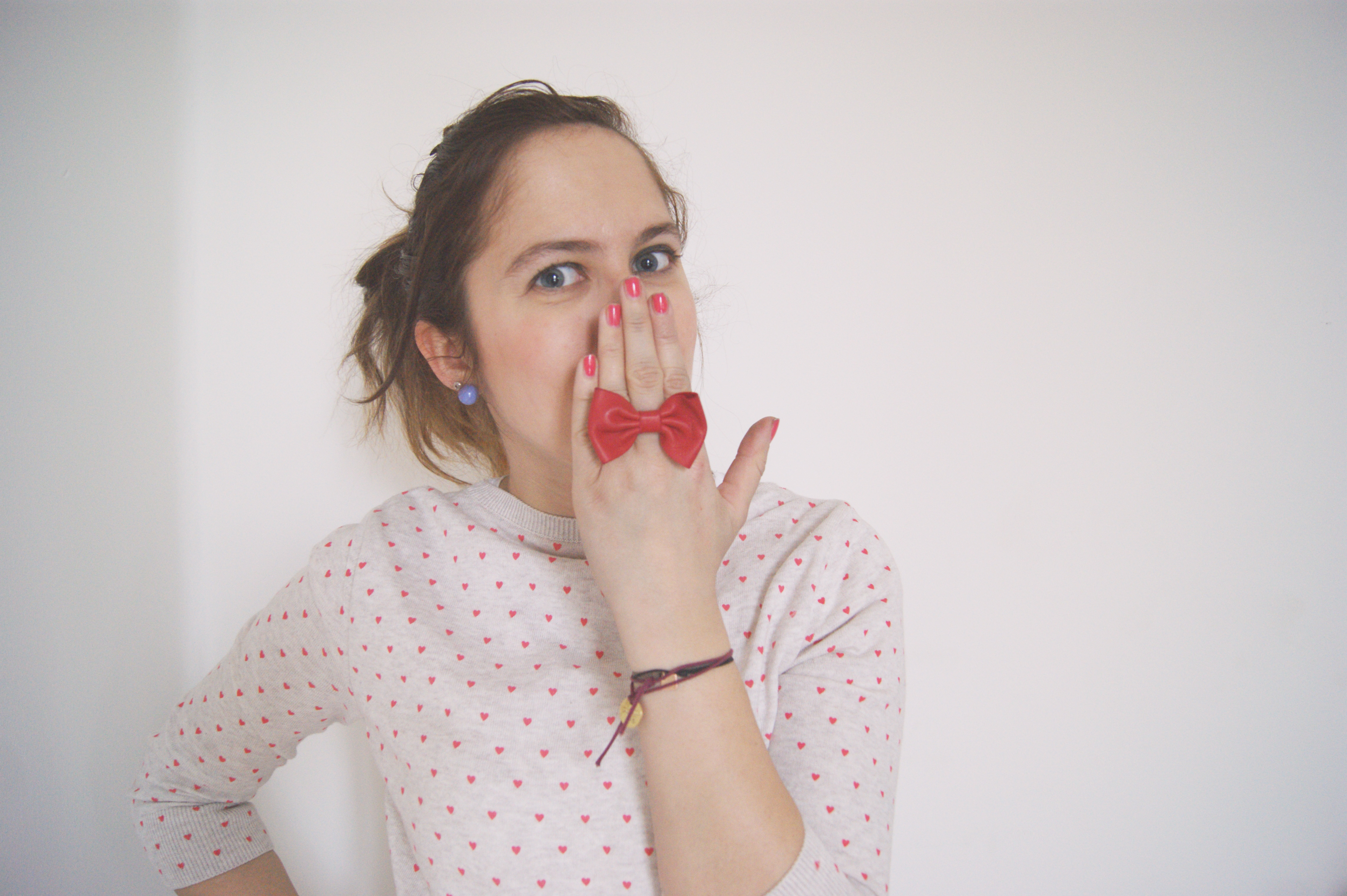 Blazer et petits coeurs Le So Girly Blog