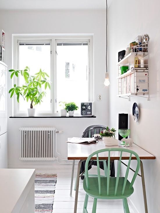 Inspirations d co pour un petit appartement le so girly blog - Deco voor eetkamer ...
