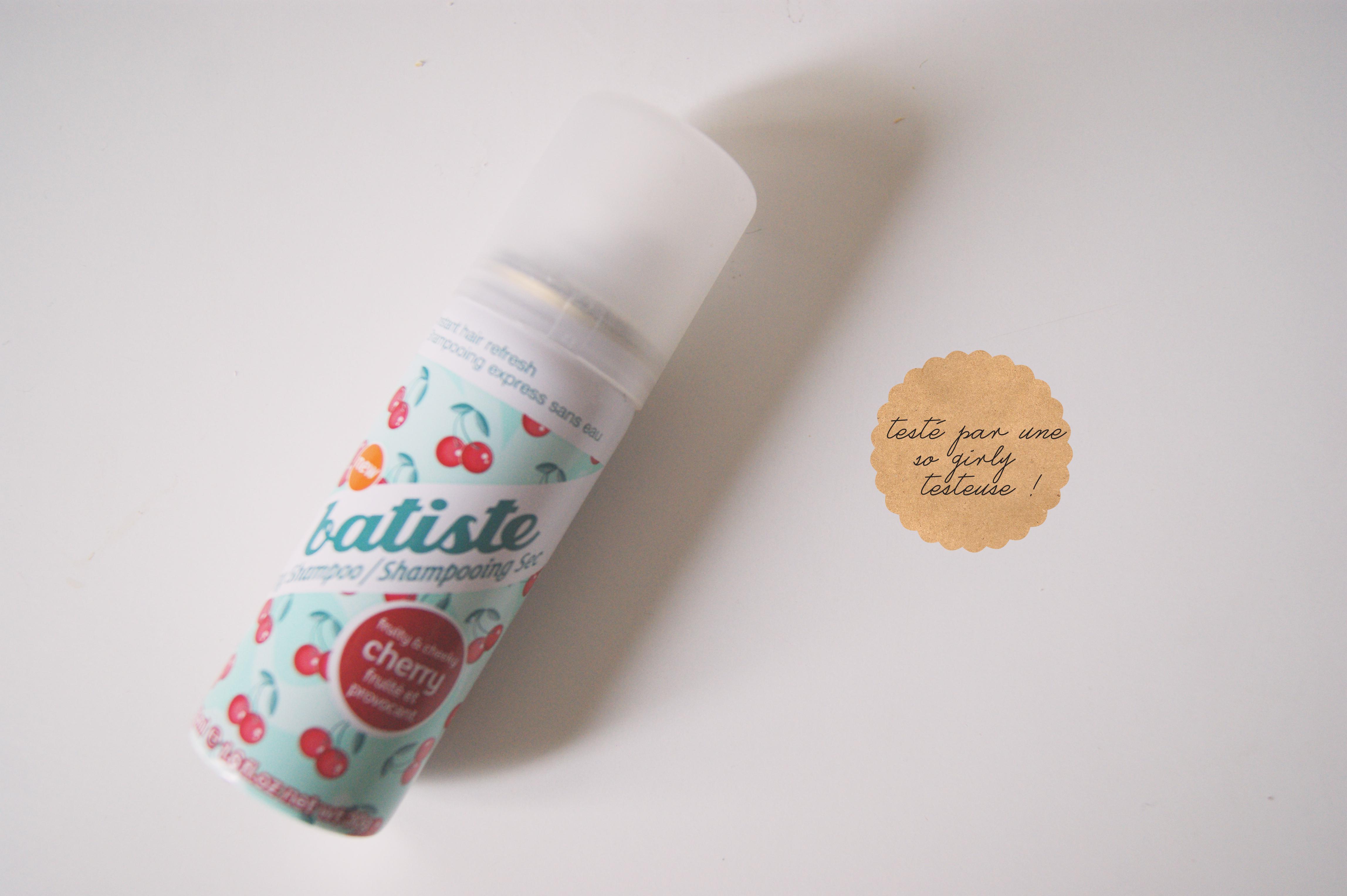 test shampoing sec batiste