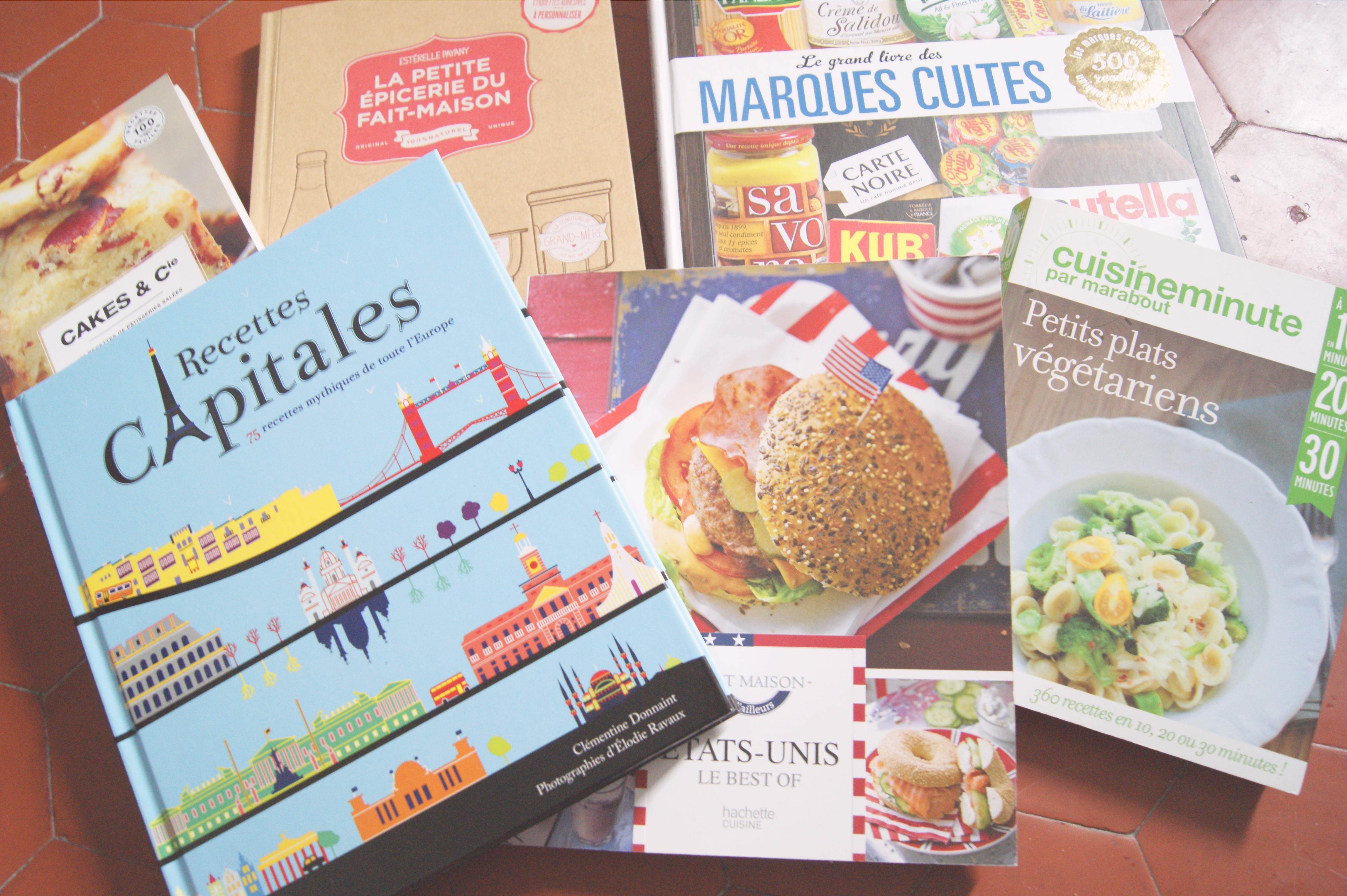 livres de cuisine sympas