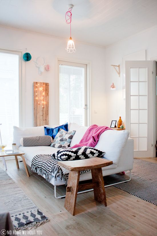 Inspirations d co pour un petit appartement le so girly blog for Idee decoration appartement etudiant