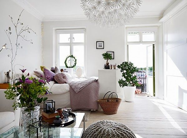 Inspirations d co pour un petit appartement le so girly blog - Decoration petit appartement moderne ...