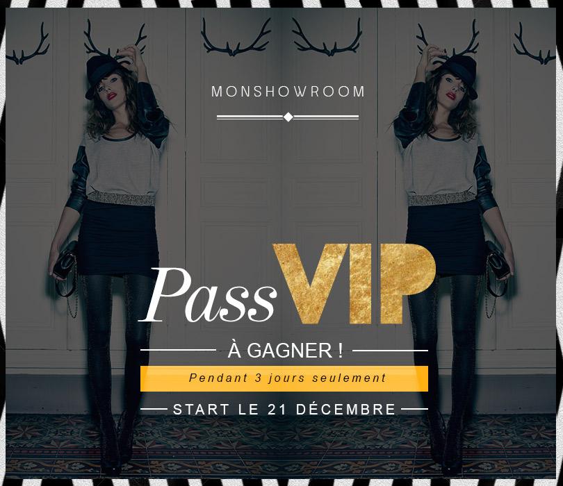Pass VIP monshowroom