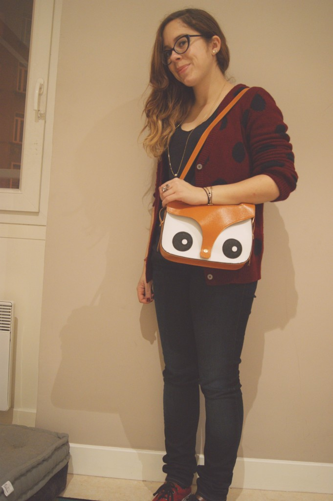 look casual sac hibou