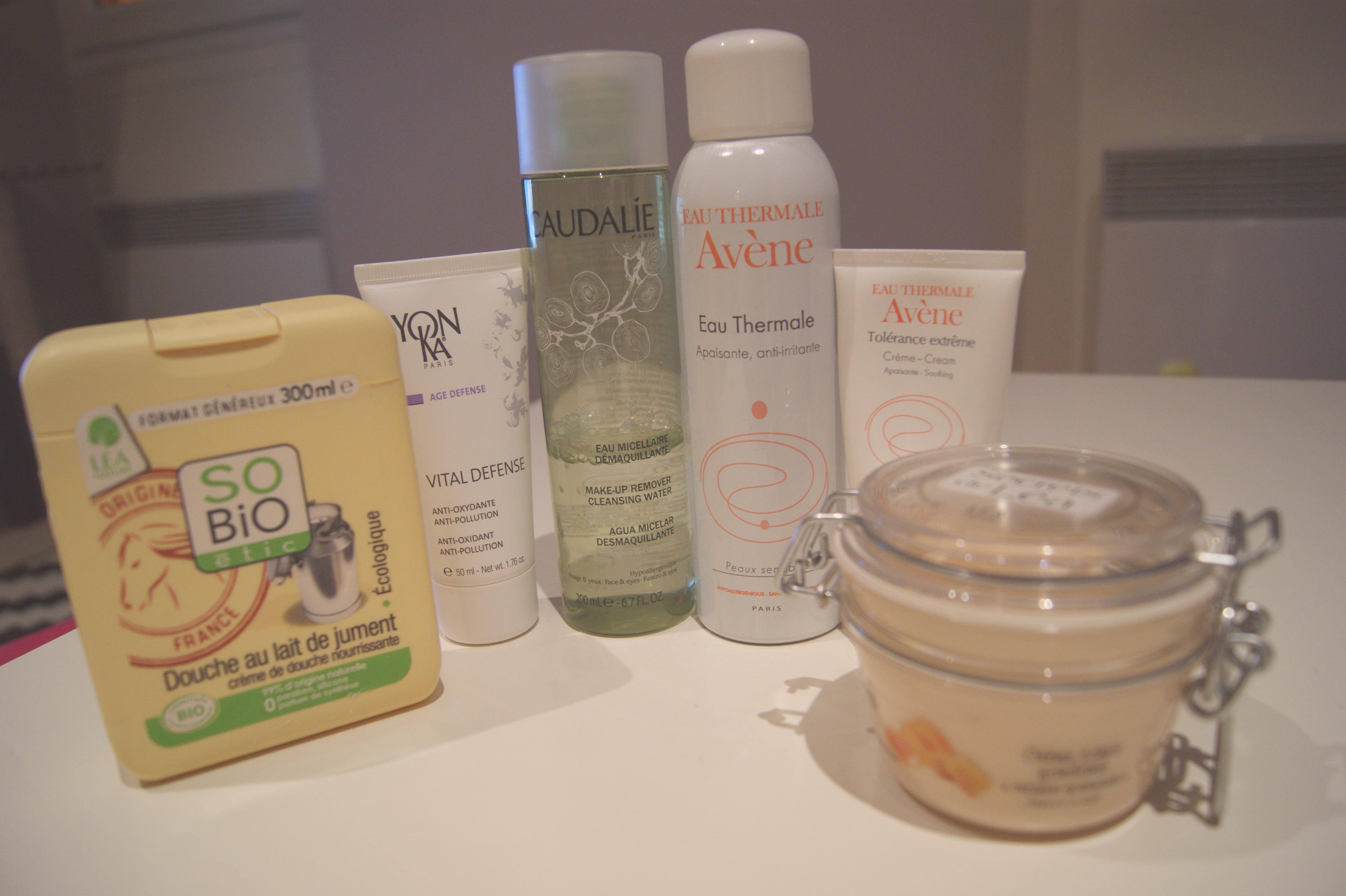 produits peau sensible