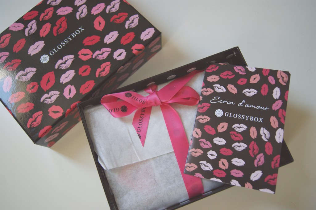 glossybox saint valentin