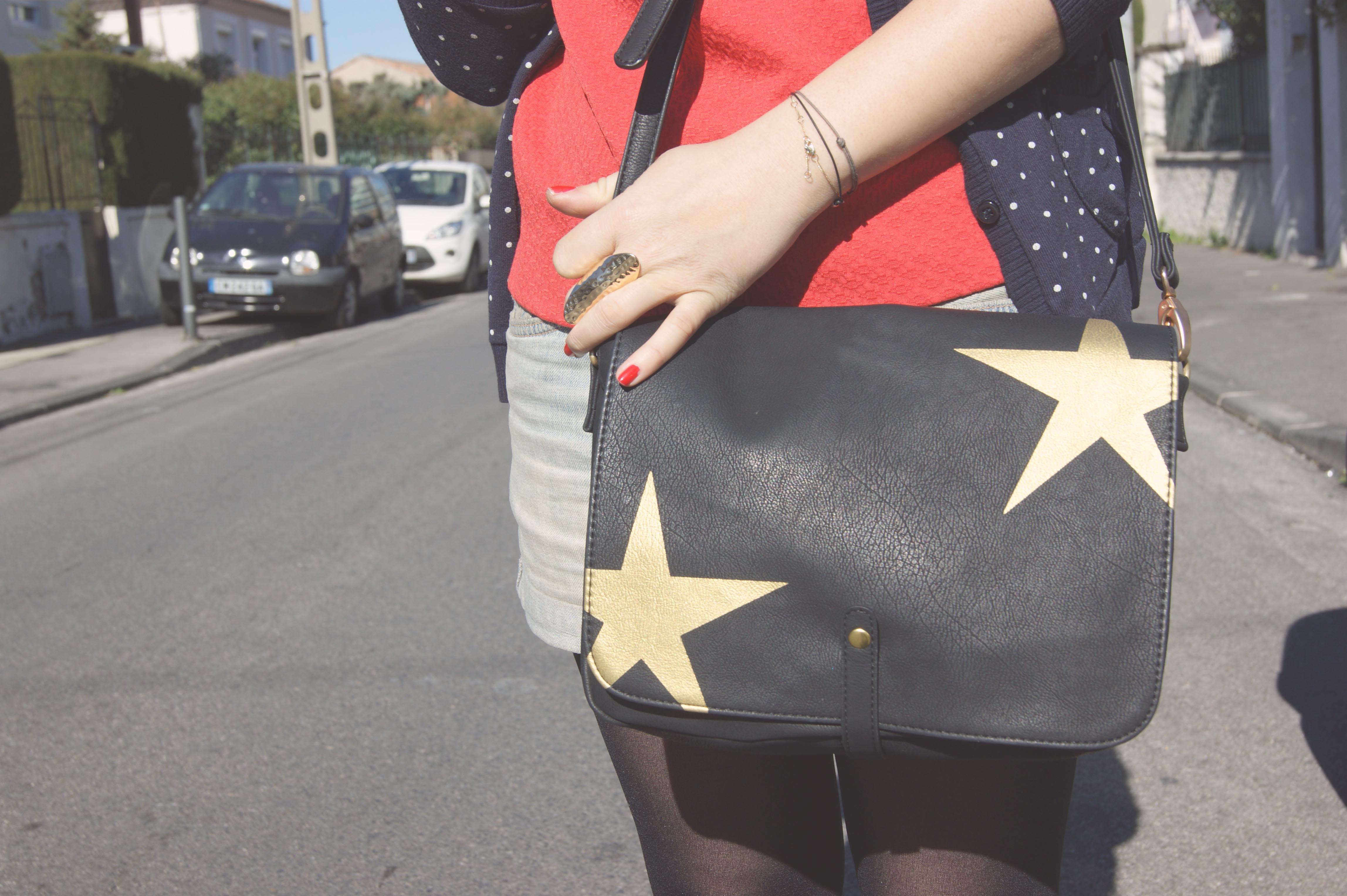sac étoiles naf naf