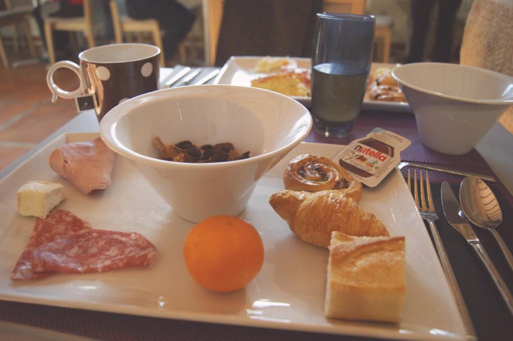 petit déjeuner moulin de vernègues