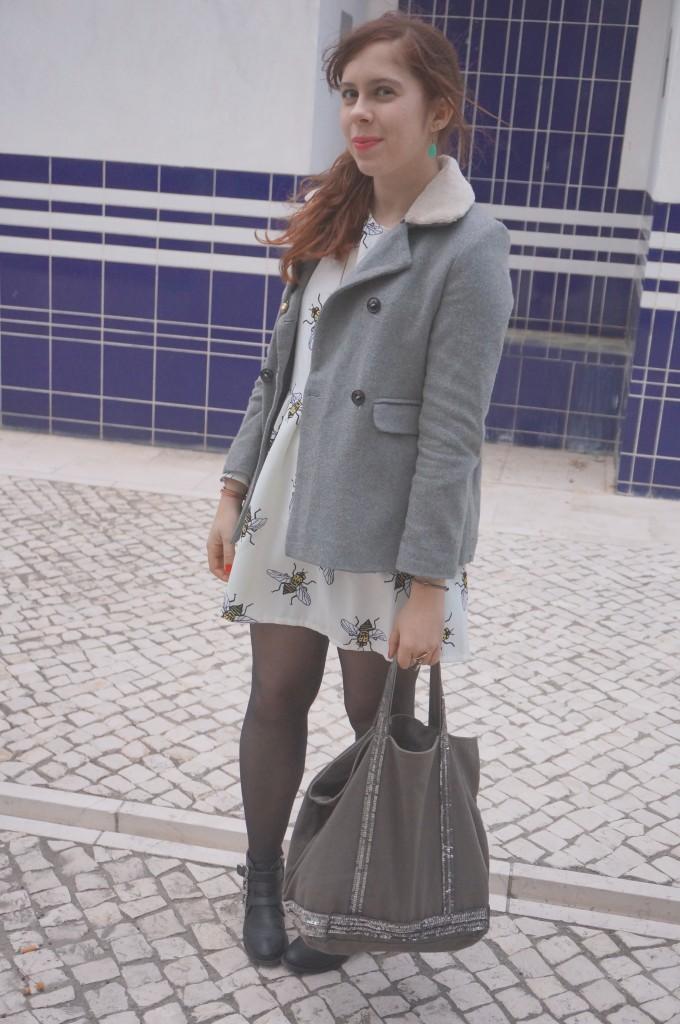 sac vanessa bruno gris