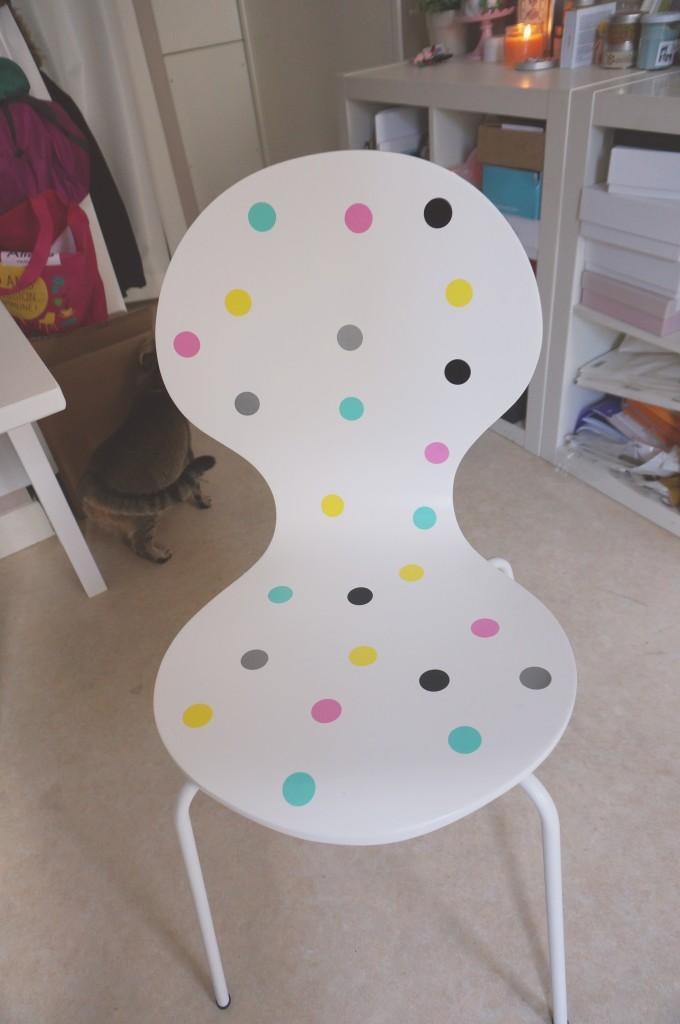 diy customiser chaises stickers