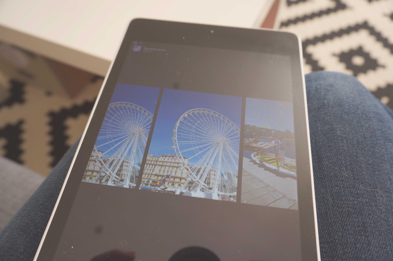 tablette HP slate 8 pro