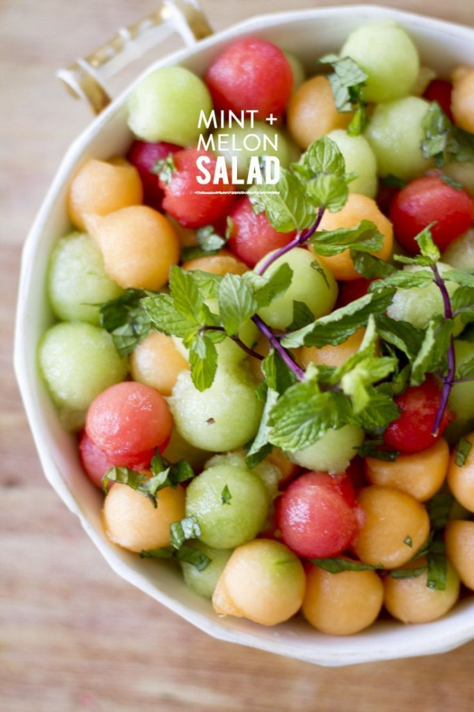 salade menthe melon