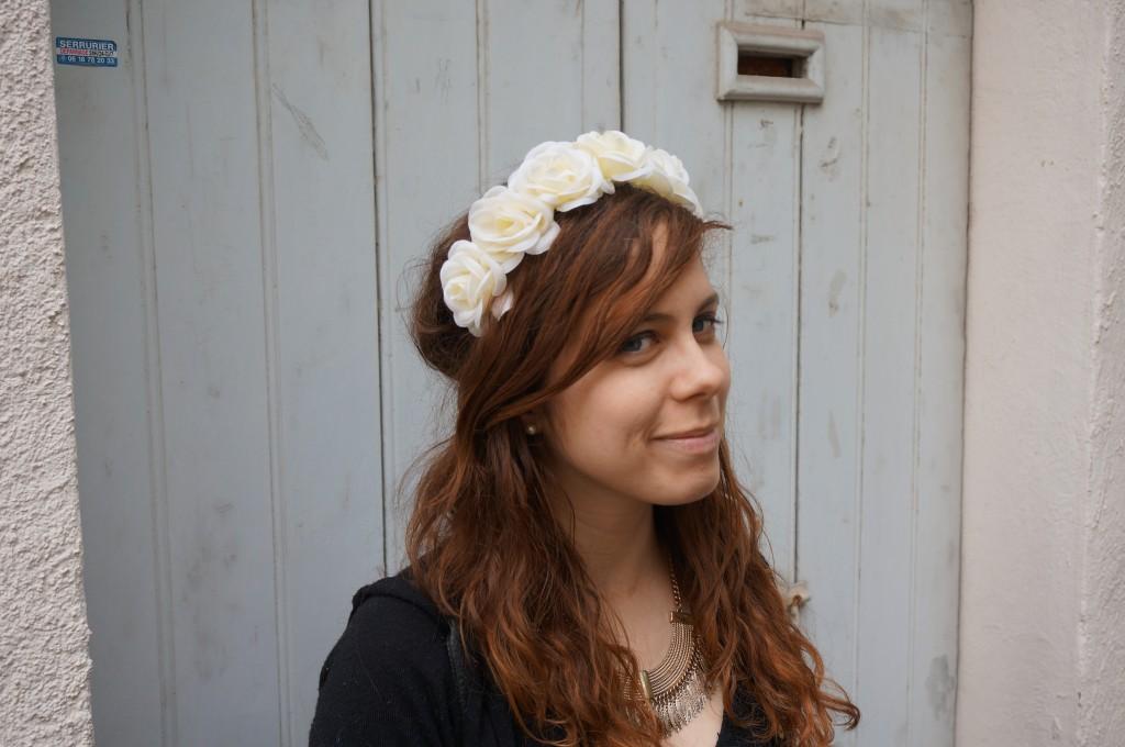 couronne de fleurs primark