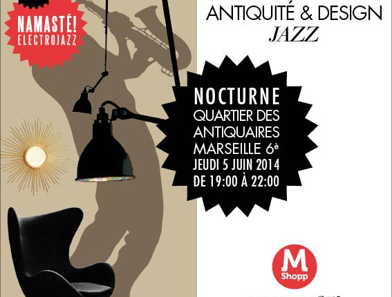 antiquité design jazz marseille