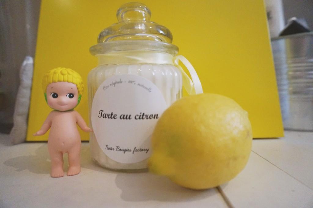 tarte au citron nour bougies factory