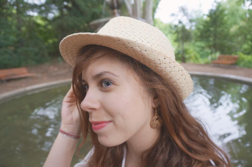 boucles d'oreilles dorées naf naf
