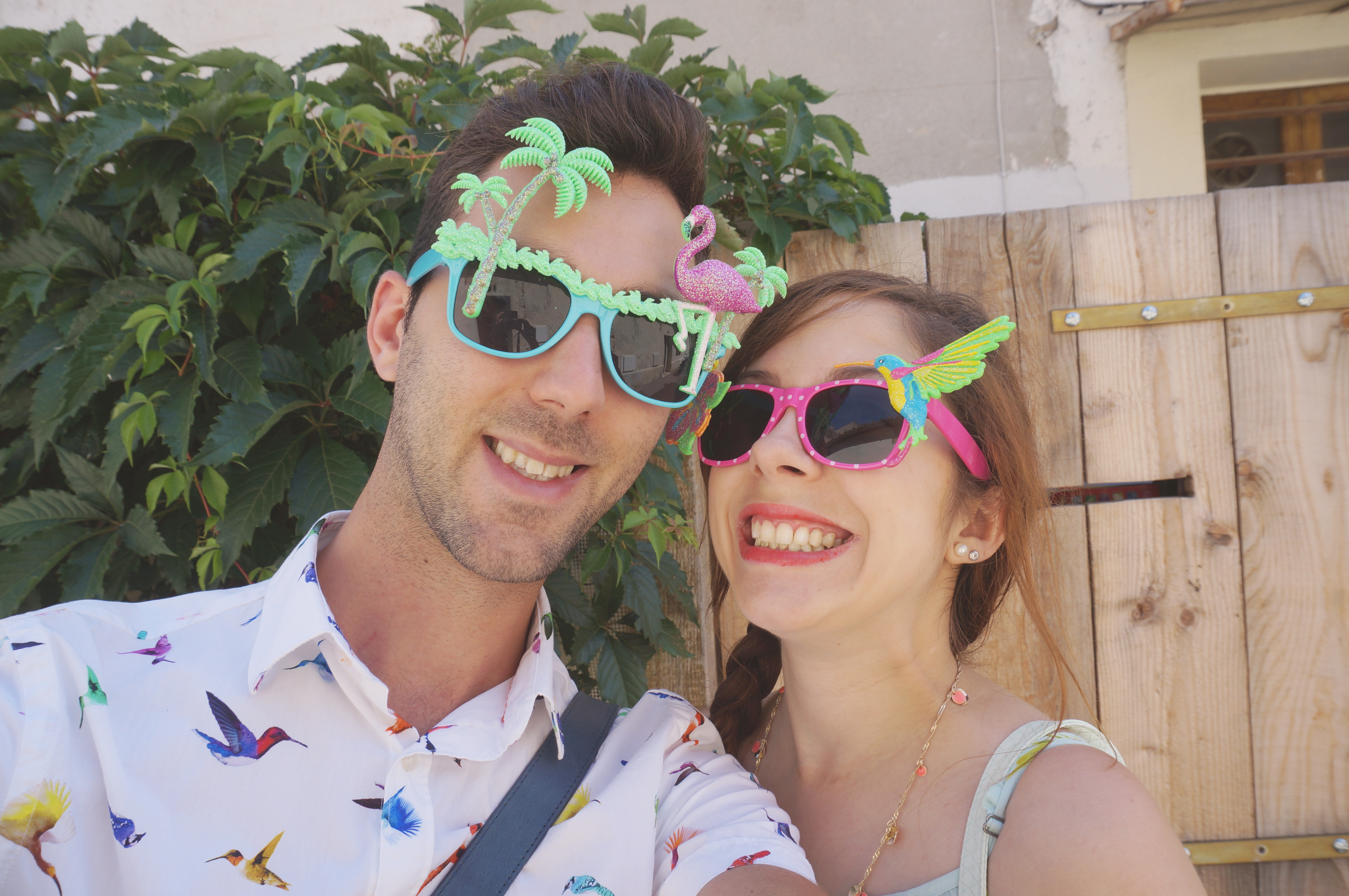 lunettes primark tropical