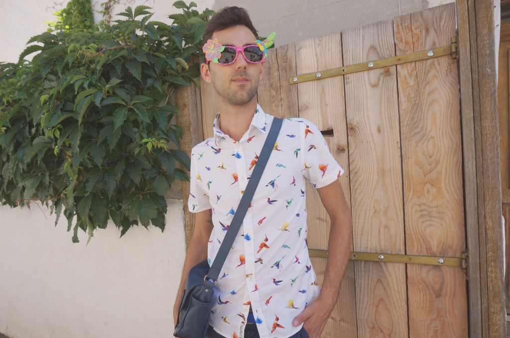 look tropical homme