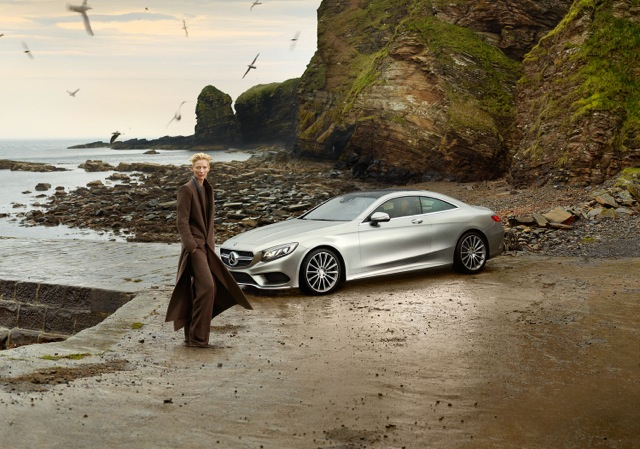 mercedes benz tilda swinton