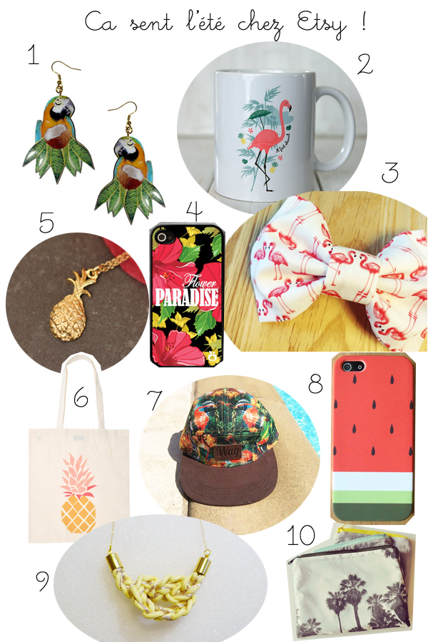 tropical etsy