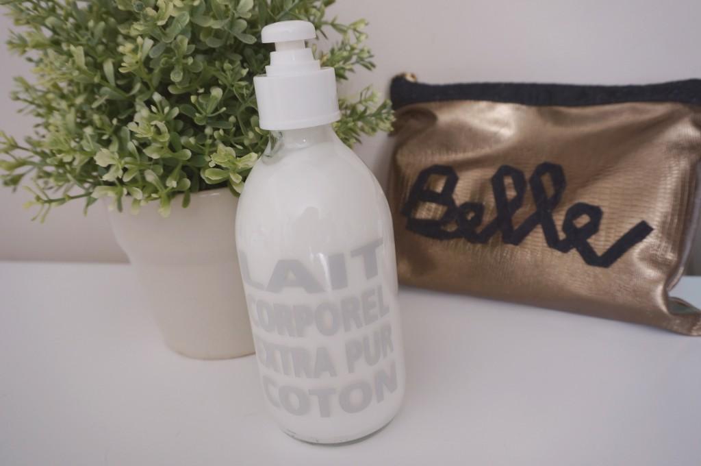 lait corporel coton compagnie de provence