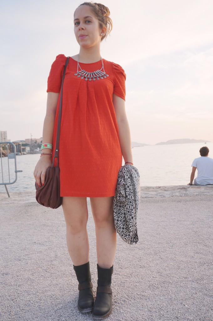 look robe sessun rouge