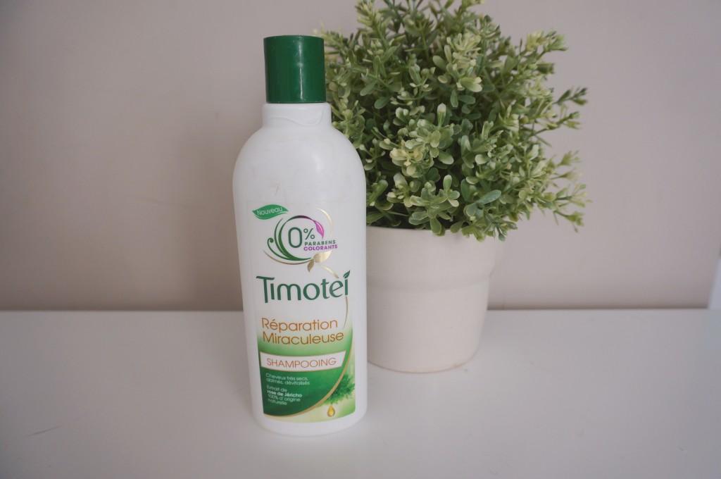 shampoing réparation miraculeuse timotei