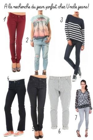 selection jeans uncle jeans