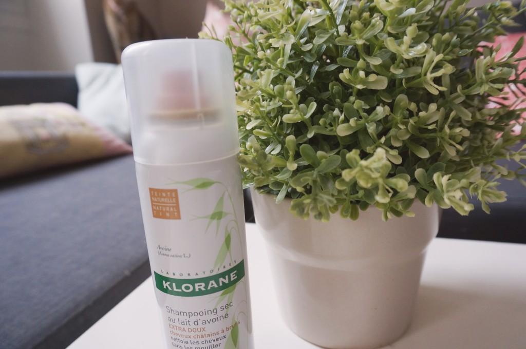 test shampoing sec klorane